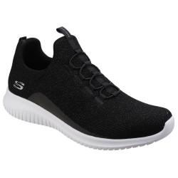 Skechers Ultra Flex Womens Black Trainer