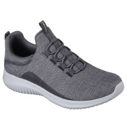 Skechers Ultra Flex Capsule Womens Charcoal Trainer