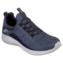 Skechers Ultra Flex Capsule Womens Navy Trainer