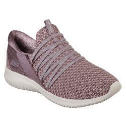 Skechers Ultra Flex Bright Future Womens Mauve Trainer