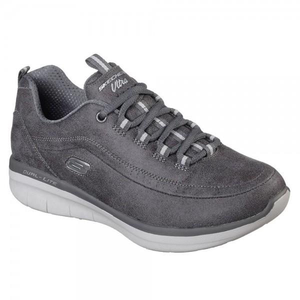 Skechers Synergy 2.0 Womens Charcoal Shoe