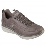 Skechers Synergy 2.0 Womens Dark Taupe Shoe