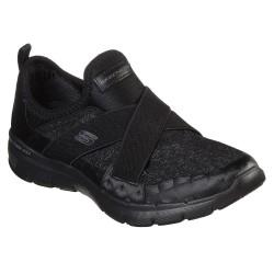 Skechers Flex Appeal 3.0 Finest Hour Womens Black Shoe