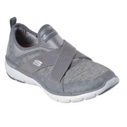 Skechers Flex Appeal 3.0 Finest Hour Womens Grey Shoe