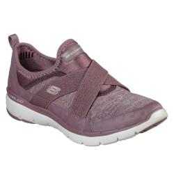 Skechers Flex Appeal 3.0 Finest Hour Womens Mauve Shoe