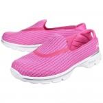 Skechers Go Walk 3 Womens Pink Trainer