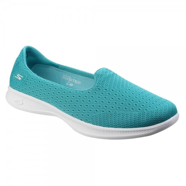 Skechers Go Step Lite Origin Womens Teal Shoe