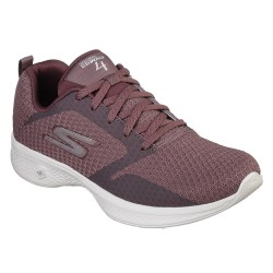Skechers Go Walk 4 Womens Mauve Shoe
