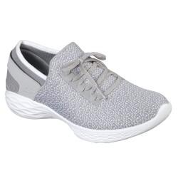 Skechers You Inspire Womens Grey Shoe