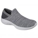 Skechers You Womens Charcoal Shoe
