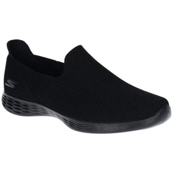 Skechers You Define Womens Black Shoe
