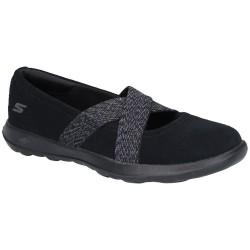 Skechers GoWalk Lite Cherished Womens Black Shoe