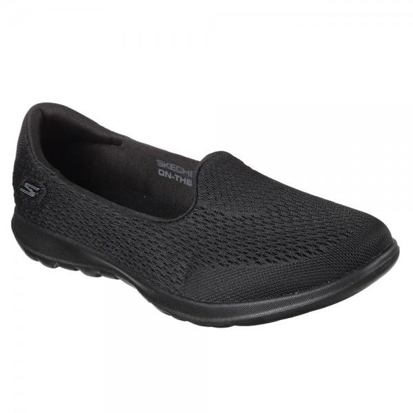Skechers GOwalk Lite Shanti Womens Black Shoe