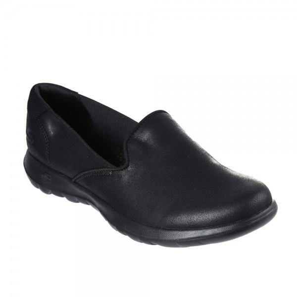 Skechers GoWalk Lite Queenly Womens Black Shoe
