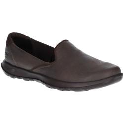 Skechers GoWalk Lite Queenly Womens Chocolate Shoe