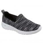 Skechers Go Walk Joy Terrific Womens Black-Grey Shoe