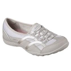 Skechers Breathe Easy Well Versed Womens Natural Shoe
