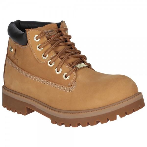 Skechers Sergeants Verdict Mens Brown Boot