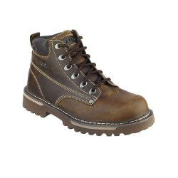 Skechers Cool Cat Bully II Mens Chocolate-Dark Brown Boot