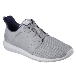 Skechers Foreflex Mens Grey Trainer