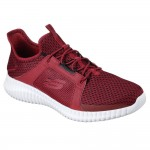 Skechers Elite Flex Mens Red-Black Trainer