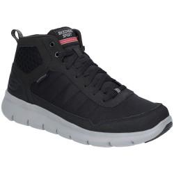 Skechers Marauder Mushoge Mens Black-Grey Shoe