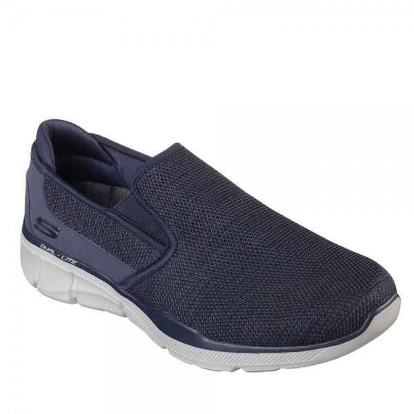Skechers Equalizer 3.0 Sumnin Mens Navy Shoe