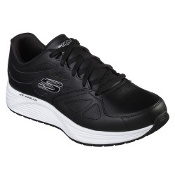 Skechers Skyline Woodmist Mens Black Trainer
