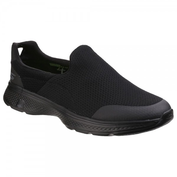 Skechers Go Walk 4 Incredible Mens Black Trainer