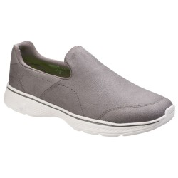 Skechers Go Walk 4 Remarkable Mens Khaki Trainer