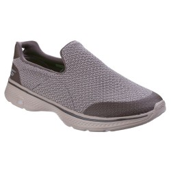 Skechers Go Walk 4 Expert Mens Khaki Trainer