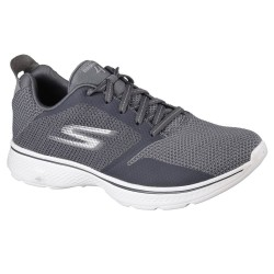Skechers GOwalk 4 Solar Mens Charcoal Trainer