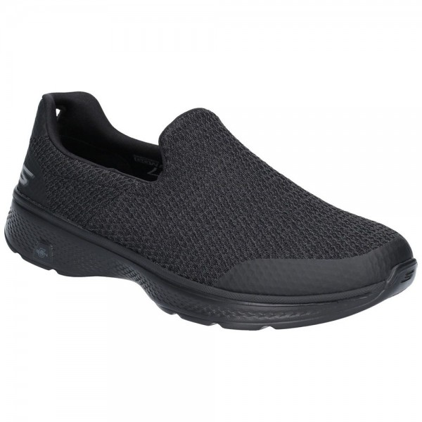 Skechers Go Walk 4 Mens Black Shoe