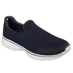 Skechers Go Walk 4 Mens Navy-Grey Shoe