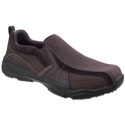 Skechers Larson Berto Mens Dark Brown Shoe
