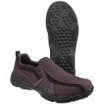 Skechers Larson Berto Mens Dark Brown Shoe