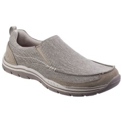 Skechers Expected Tomen Mens Khaki Shoe