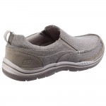 Skechers Expected Tomen Mens Khaki Shoe
