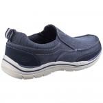 Skechers Expected Tomen Mens Navy Shoe