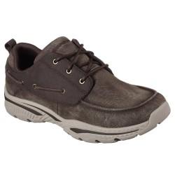 Skechers Creston Vosen Mens Chocolate Shoe