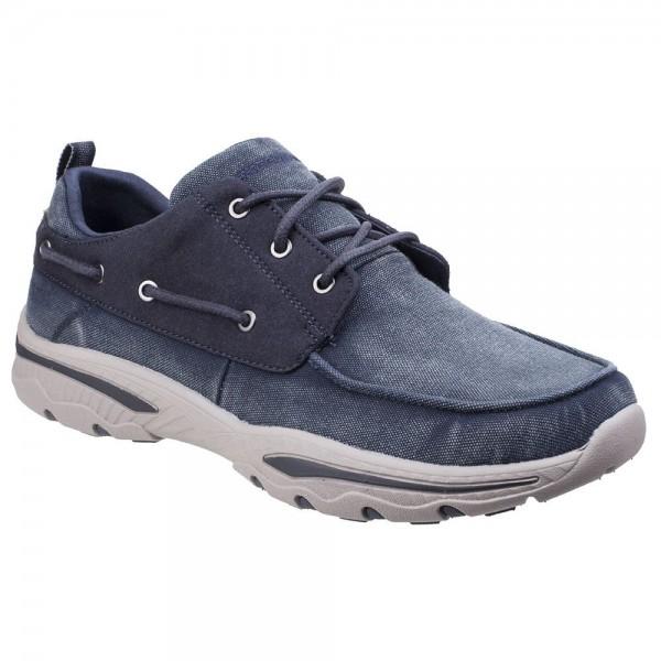 Skechers Creston Vosen Mens Navy Shoe