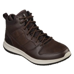Skechers Delson Ralcon Mens Chocolate Shoe