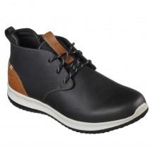 Skechers Delson Clenton Mens Black Shoe