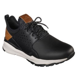 Skechers Relven Hemson Mens Black Trainer