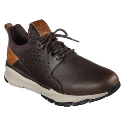 Skechers Relven Hemson Mens Chocolate Trainer