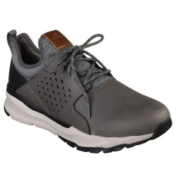 Skechers Relven Hemson Mens Grey Trainer