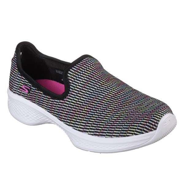 Skechers GOwalk 4 Select Girls Black-Multi Shoe