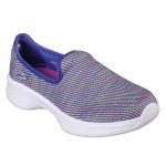 Skechers GOwalk 4 Select Girls Blue-Multi Shoe