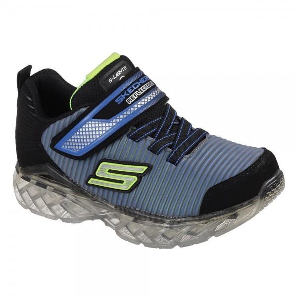 Skechers Flex-Charge Ronix Black-Blue Trainer