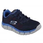Skechers Skech-Flex 2.0 Quick Pick Boys Navy-Blue Trainer